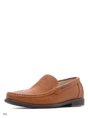 Ботинки GUT. Цвет: терракотовый