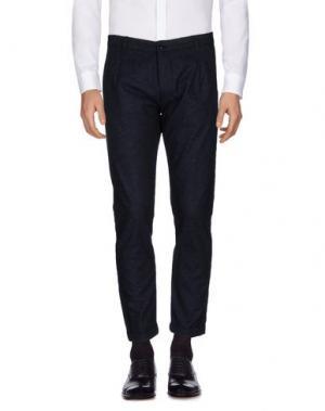 Повседневные брюки INDIVIDUAL. Цвет: темно-синий