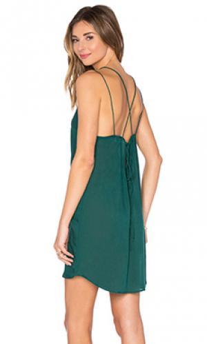 Платье kamaaina Acacia Swimwear. Цвет: зеленый