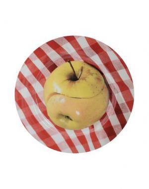 Декоративная тарелка SELETTI WEARS TOILETPAPER. Цвет: (-)