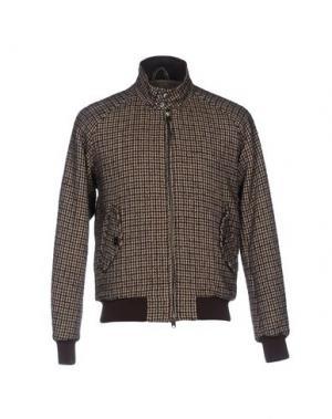 Куртка BARACUTA. Цвет: коричневый