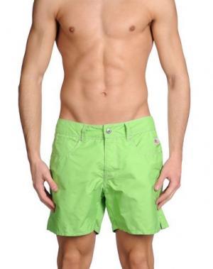 Шорты для плавания ROŸ ROGER'S. Цвет: кислотно-зеленый
