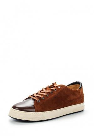 Кеды Gant. Цвет: коричневый
