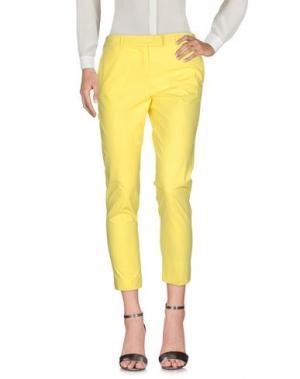 Повседневные брюки MARELLA SPORT. Цвет: желтый