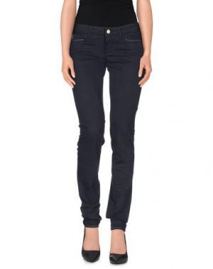 Повседневные брюки D-21. Цвет: грифельно-синий