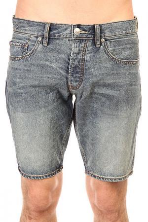 Шорты джинсовые  Revolves Teld Dnst Elder Quiksilver. Цвет: синий