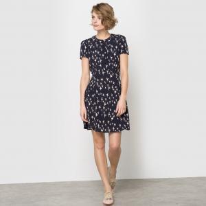 Платье с короткими рукавами MADEMOISELLE R. Цвет: набивной рисунок