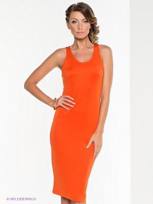 Платье Goddess London. Цвет: оранжевый