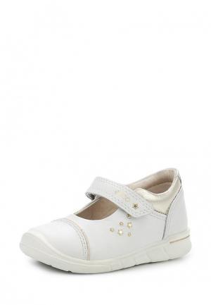 Туфли Ecco. Цвет: белый