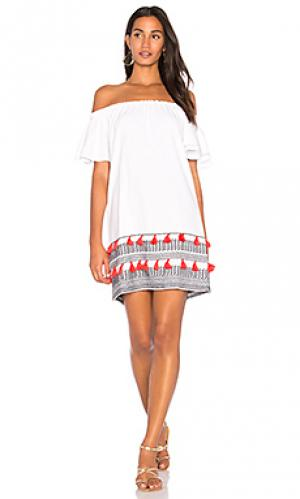 Платье perth PIPER. Цвет: белый