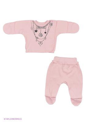 Комплект одежды Tsipochka. Цвет: розовый