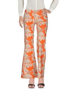 Повседневные брюки SO NICE. Цвет: оранжевый