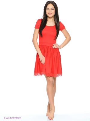 Платье AnGela. Цвет: красный