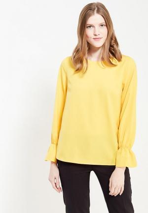 Блуза Твое. Цвет: желтый
