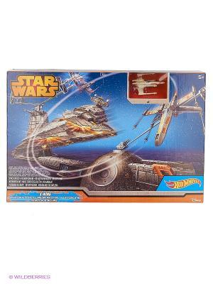 Игровой набор Битва с имперским крейсером Hot Wheels. Цвет: черный, коричневый