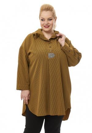 Туника Nefertari Dress. Цвет: оранжевый