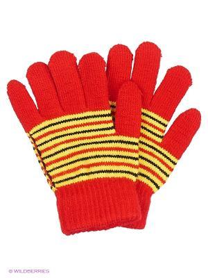 Перчатки Mini. Цвет: красный, белый