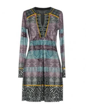 Короткое платье HALE BOB. Цвет: фиолетовый