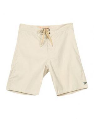 Пляжные брюки и шорты MOLLUSK. Цвет: бежевый