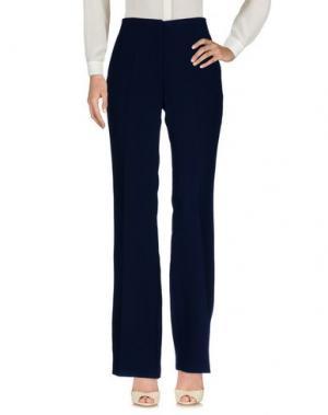 Повседневные брюки EMMA&GAIA. Цвет: темно-синий