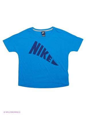 Футболка G NSW TOP Nike. Цвет: синий