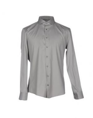 Pубашка DRYKORN. Цвет: серый