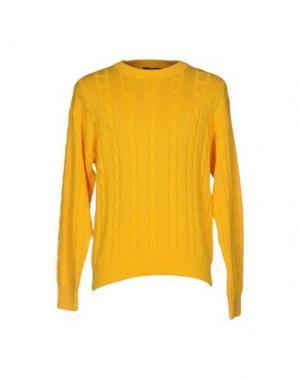Свитер FIUME. Цвет: желтый