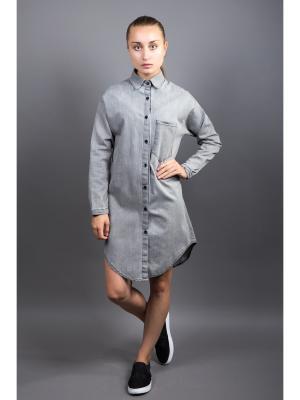 Рубашка Fronzoli. Цвет: серо-коричневый
