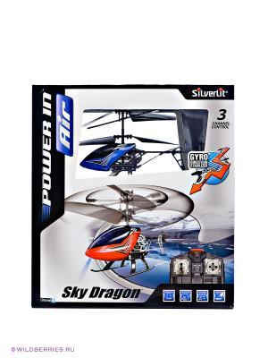 Вертолет Sky Dragon Silverlit. Цвет: синий
