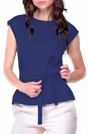 Блуза Dioni. Цвет: синий
