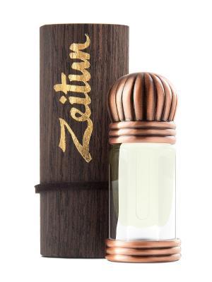 Женские концентрированные масляные духи-афродизиак Сахар Зейтун. Цвет: светло-желтый