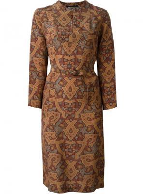 Платье Blondine Vanessa Seward. Цвет: коричневый