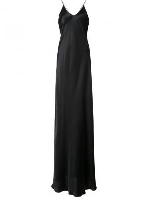 Вечернее платье Allen Alix. Цвет: чёрный