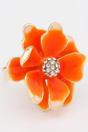 Кольцо разъемное Be You to Full. Цвет: оранжевый