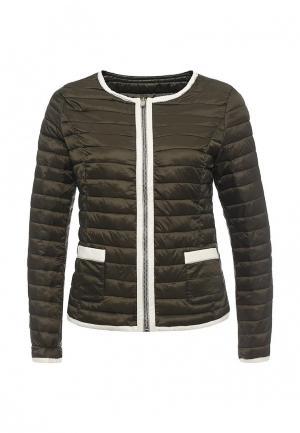 Куртка утепленная By Swan. Цвет: хаки