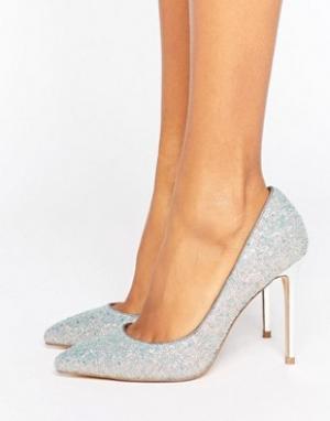 Faith Туфли-лодочки с острым носком и блестками Chloe. Цвет: мульти