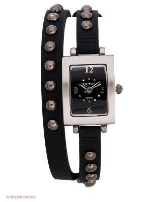 Часы TOKYObay. Цвет: черный, серебристый