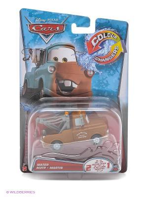 Машинка из серии Disney Cars Mattel. Цвет: коричневый, белый