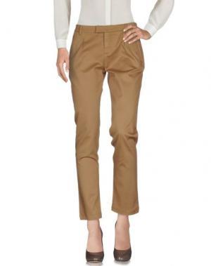 Повседневные брюки FAIRLY. Цвет: верблюжий