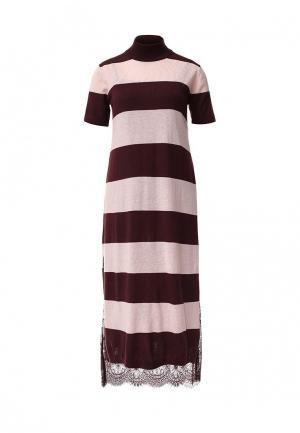 Платье Twin-Set Simona Barbieri. Цвет: разноцветный