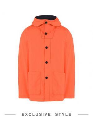 Куртка ARTHUR ARBESSER x YOOX. Цвет: коралловый