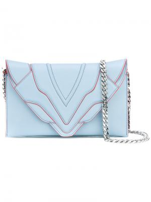 Sensua shoulder bag Elena Ghisellini. Цвет: синий