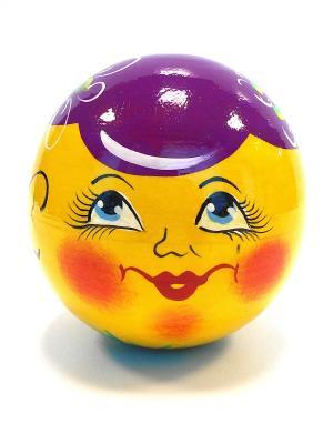 Неваляшка музыкальная - Колобок в фиолетовой кепочке Taowa. Цвет: желтый, фиолетовый