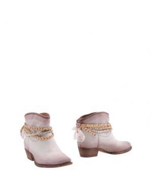 Полусапоги и высокие ботинки FELMINI. Цвет: слоновая кость