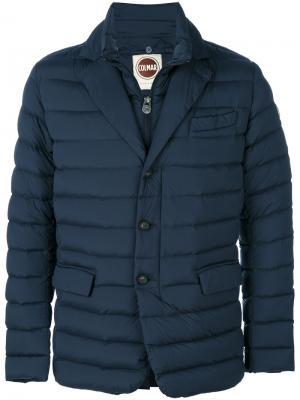 Куртка-пуховик с капюшоном Colmar. Цвет: синий