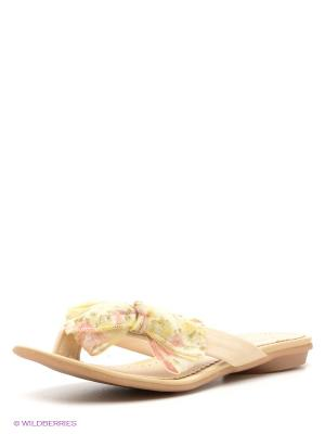 Пантолеты Felina shoes. Цвет: светло-бежевый
