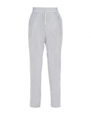 Повседневные брюки EQUIPMENT FEMME. Цвет: белый