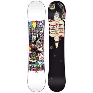 Сноуборд женский  Gem Hybrid-Dual 145 Black/Multi Apo. Цвет: мультиколор