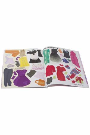 Келли Смит. Бумажный гардероб. Времена года Слово. Цвет: multicolor