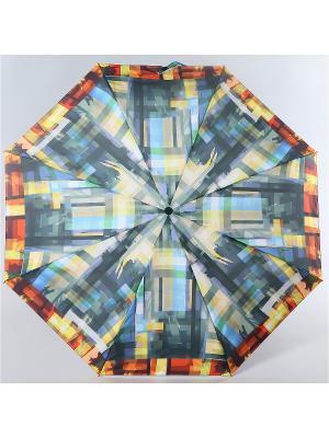 Зонт Zest. Цвет: желтый,серый,светло-голубой